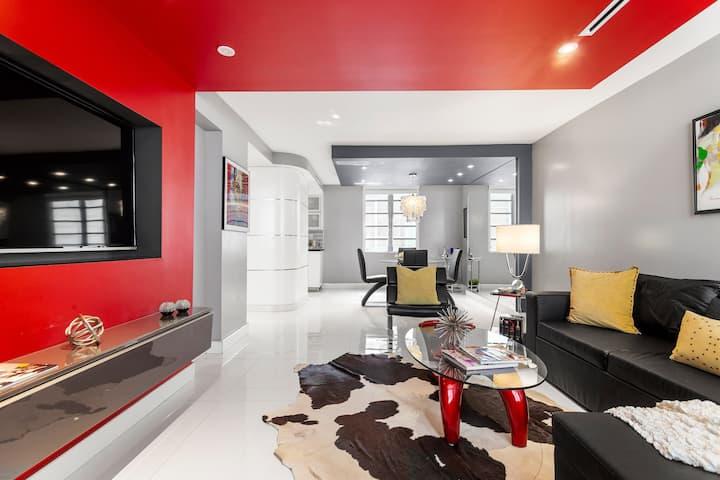 TOP MODERN apartment in Miami Beach.