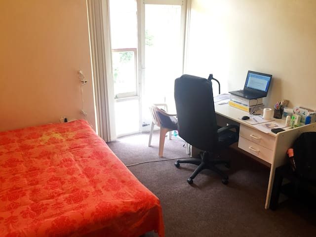 Kensington near UNSW sunny bedroom with balcony