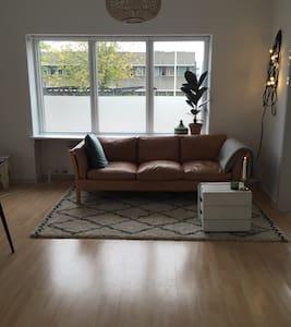 Fin, lys lejlighed i Odense C (nær stationen) - Apartmen