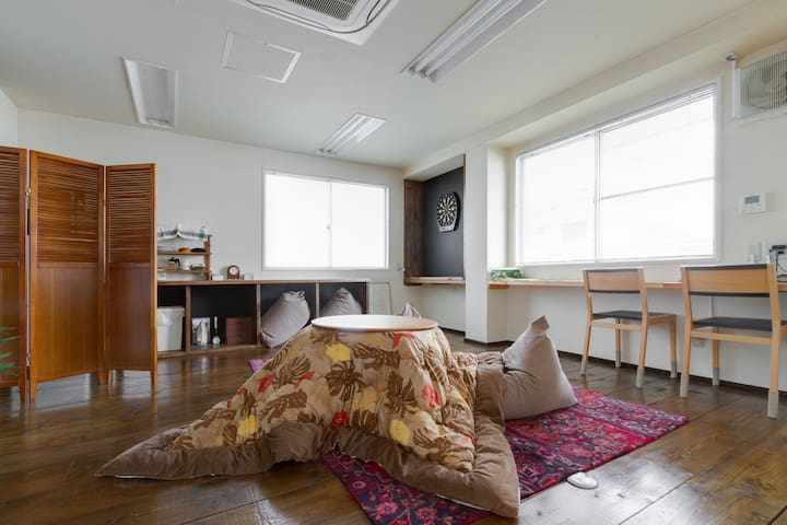 Roomy 1BedroomApt nrSTA Osaka EasyAccess WiFi