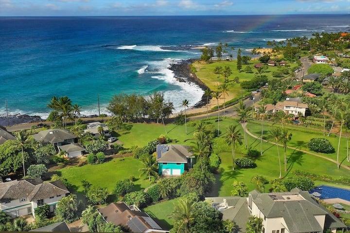 Kua Nalu Poipu Beach- Best Beach House *