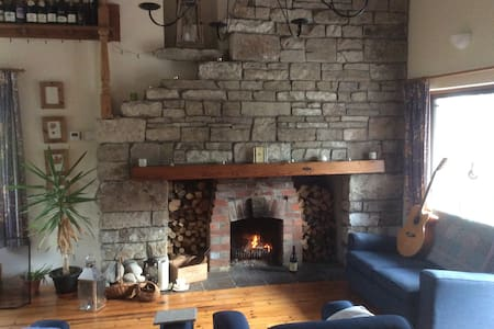 'Derryherk' 5 bedroom house Leitrim Donegal Sligo