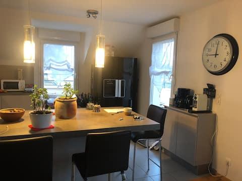 Apartment near Paris Saclay and Courtabeuf