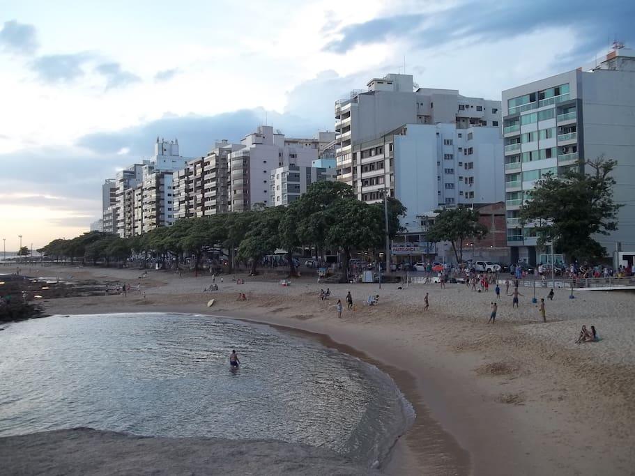 praia das Castanheiras a três mintos a pé