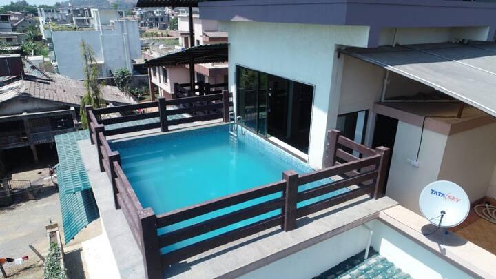 4BR Roof top pool villa - 2