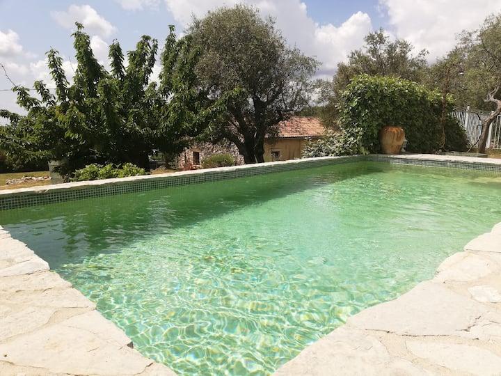 maison provençale avec piscine et jardin privatifs