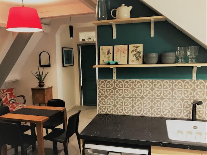 Appartement moderne pour 6 pers avec 2 chambres