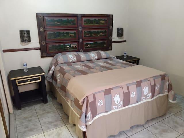 Hotel & Galería El Refugio habitación sencilla