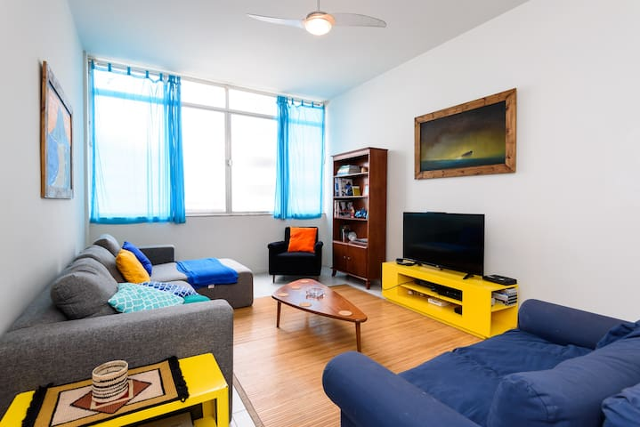 Great Apt In The Heart Of Ipanema ★Best Experience