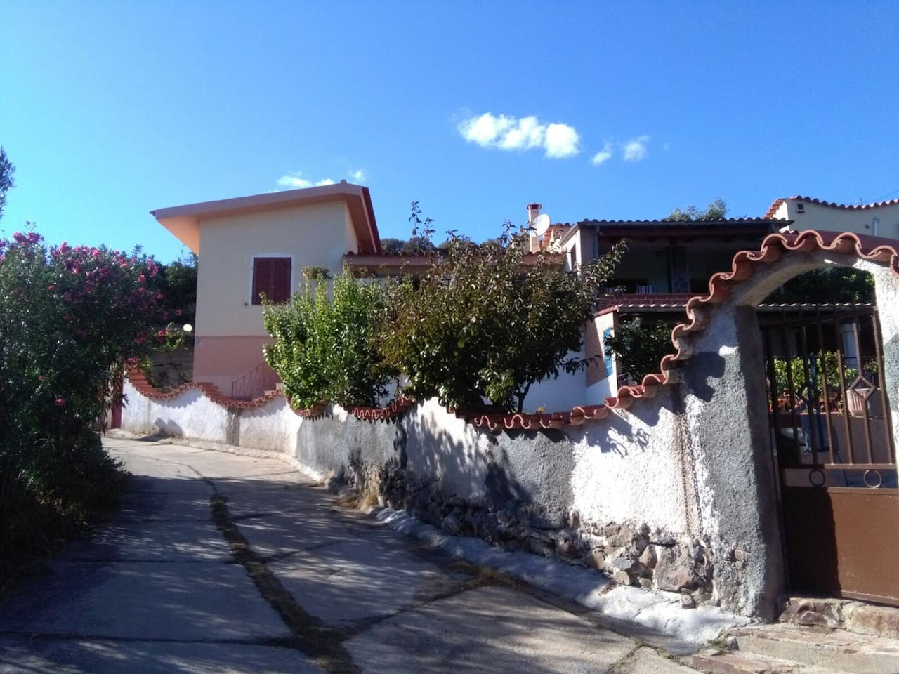 Split house- Our listing is the part on the left which is fully private and enclosed with it's own two private entrances