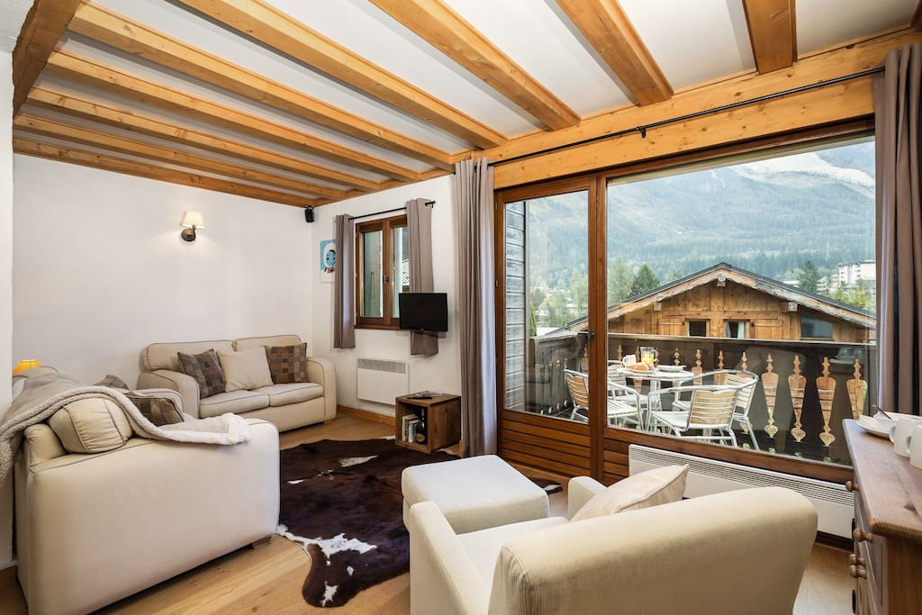 Apartment le Chamouny, Chamonix centre (sleeps 10)