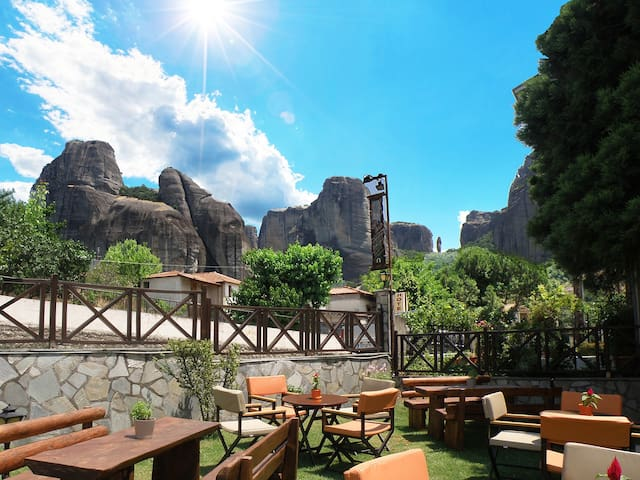 Alovely Deluxe room Meteora view