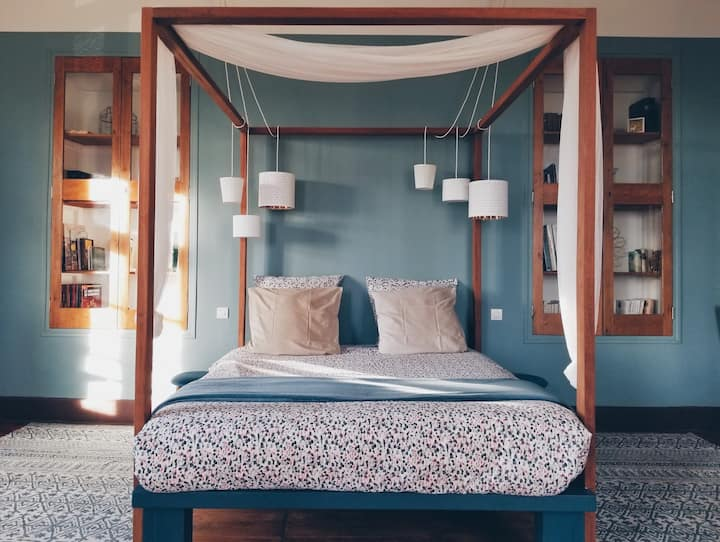 Suite in provençal guesthouse