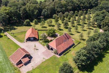 Exclusieve vakantie boerderij met privé wellness