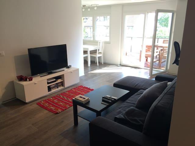 Modern Apartment 10 Minutes from Zurich - Dübendorf - Leilighet