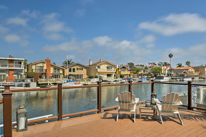 Channel Islands Harbor Home w/Dock, Walk to Beach!