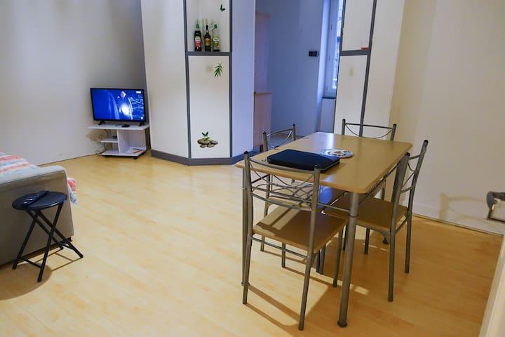 T3 meublé indépendant en centre ville