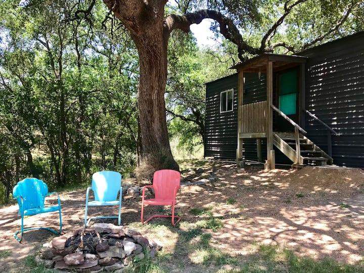 Llano River - 1 BR Cabin - Site 6