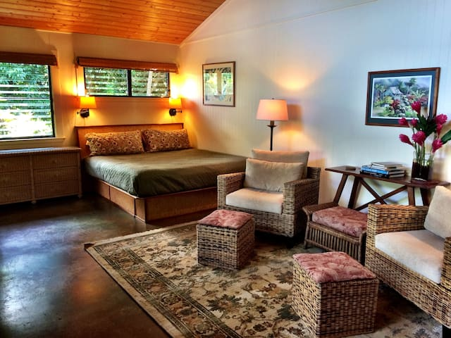 The Garden Hideaway at Lotus Farm - Kilauea - Bed & Breakfast