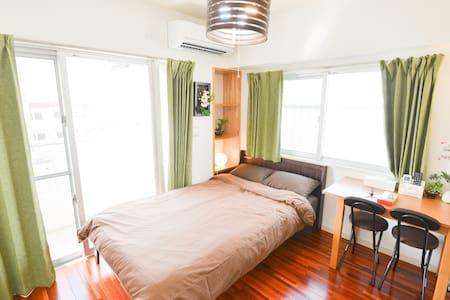 New! Clean Room! 5  min to Miebashi/Tomarin! 3B