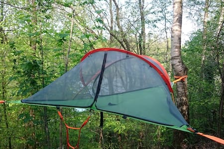 Tree top tent - The Funky Forest - Langå
