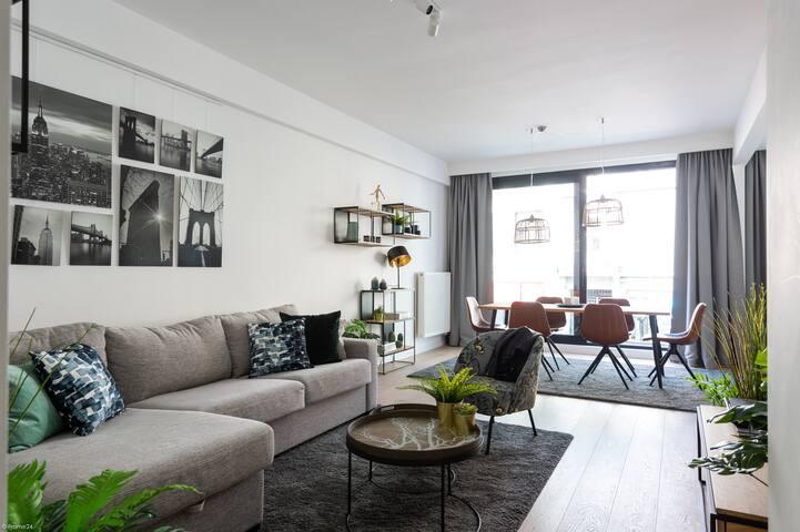 Luxe Appartement vlakbij het MAS en GRATIS parking