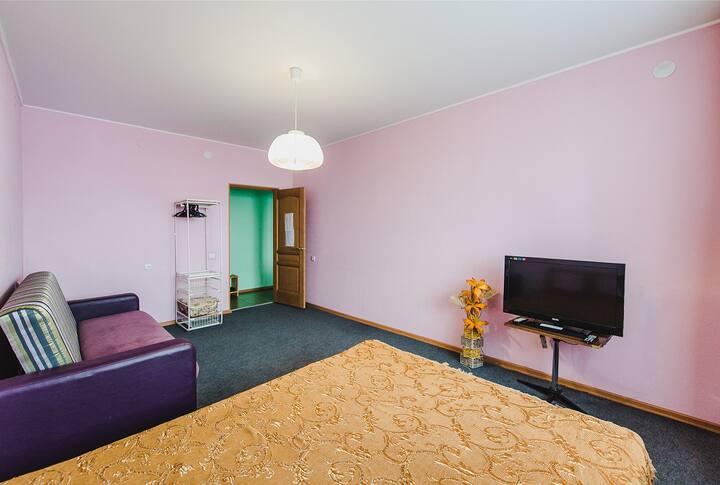 1-комнатная квартира № 5,  ул. Кирова 16
