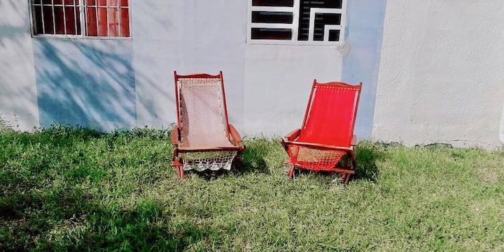 Rústico departamento en paradisiaco Puerto Morelos
