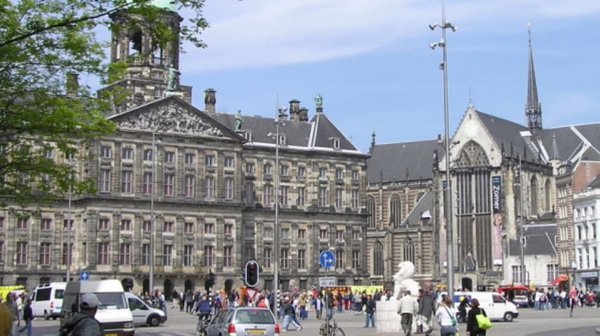 Room, just steps from Dam Square - Amsterdam - Apartment