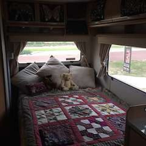 Our much loved home on wheels