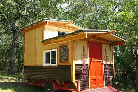 """""""The Gypsy Dancer"""" Tiny House Gypsy Camp, Glamping"""