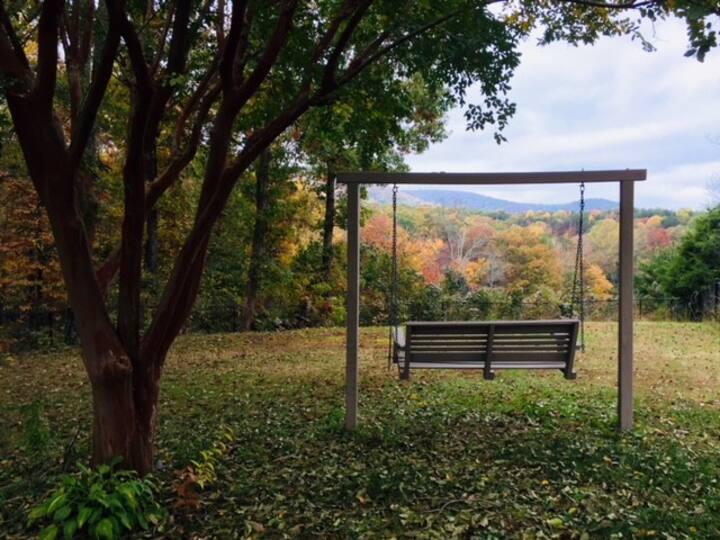 Beautiful Mtn Views & only 10 mins from Furman