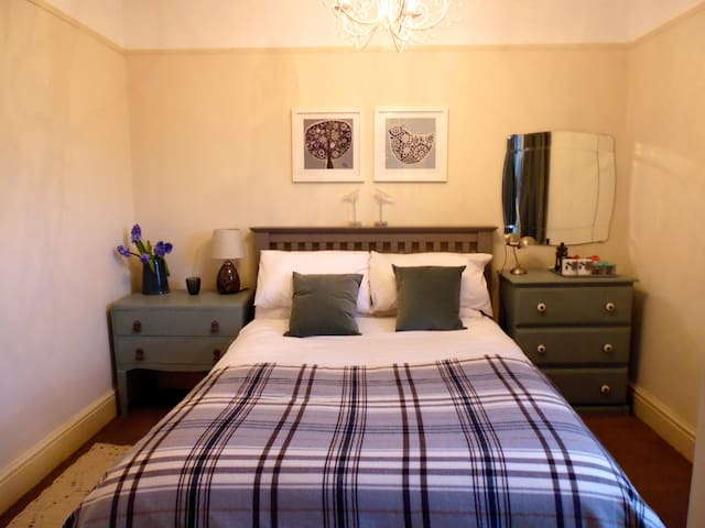 Comfortable en-suite room in Georgian house - Abergavenny