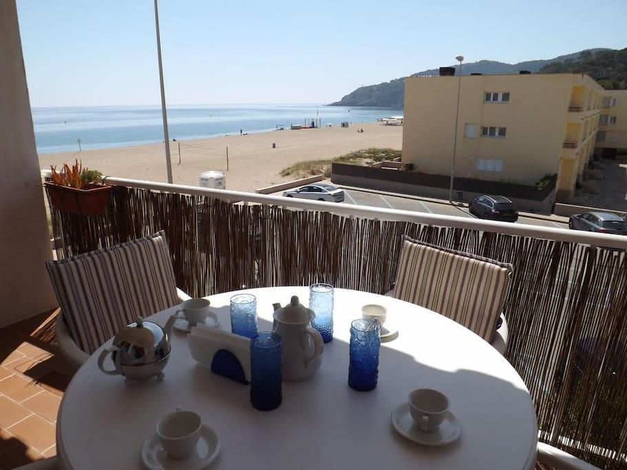 terraza con vistas a mar-SA PUNTA COSTA BRAVA