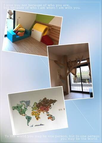 太陽能親子屋  (採光良好適合家庭入住)   TALK  FOR ENGLISH - 台南市