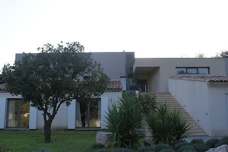 Villa d'architecte contemporaine 2 - Grimaud - Bed & Breakfast