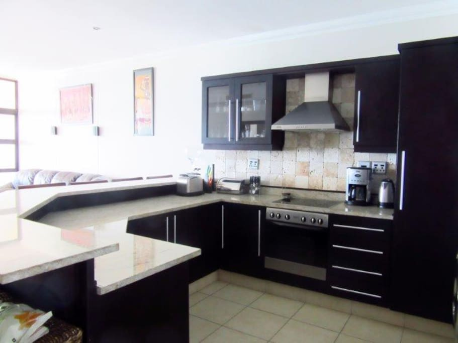 Fitted kitchen with all the necessities needed to make your stay a memorable one