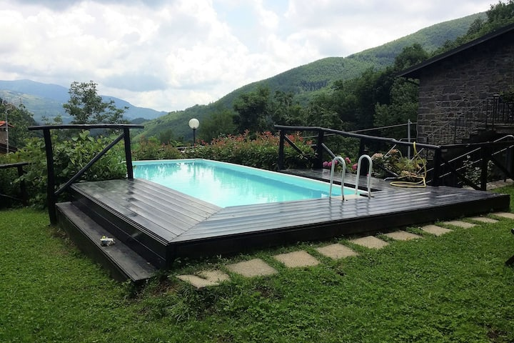 Relaxing Holiday Home with Swimming Pool,Garden, Terrace,BBQ