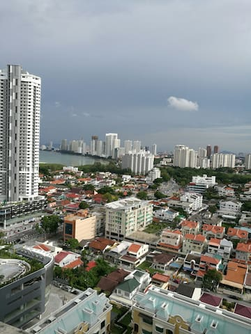 "RM 199 Sea & City View ""Best Value"" - George Town, Pulau Pinang, MY - Lägenhet"