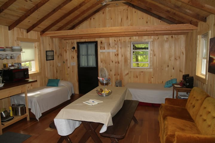 Overview of the cabin