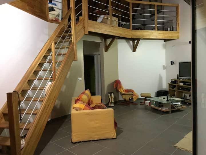 Haus mit 2 Schlafzimmern in Capesterre-Belle-Eau mit herrlichem Meerblick, eingezäuntem Garten und W-LAN