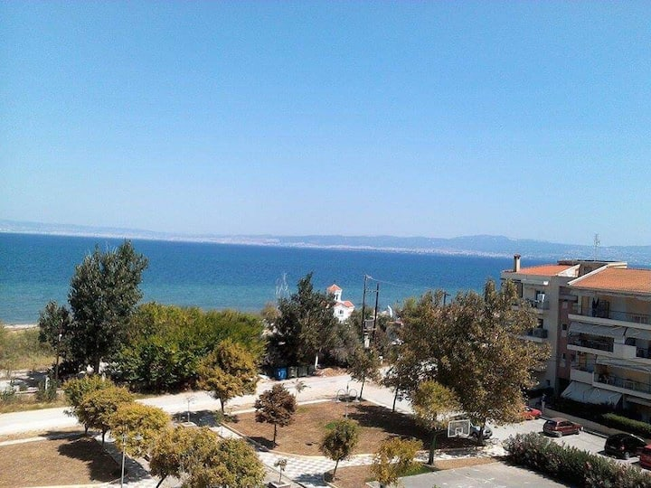 Seafront Penthouse in Agia Triada/Thessaloniki