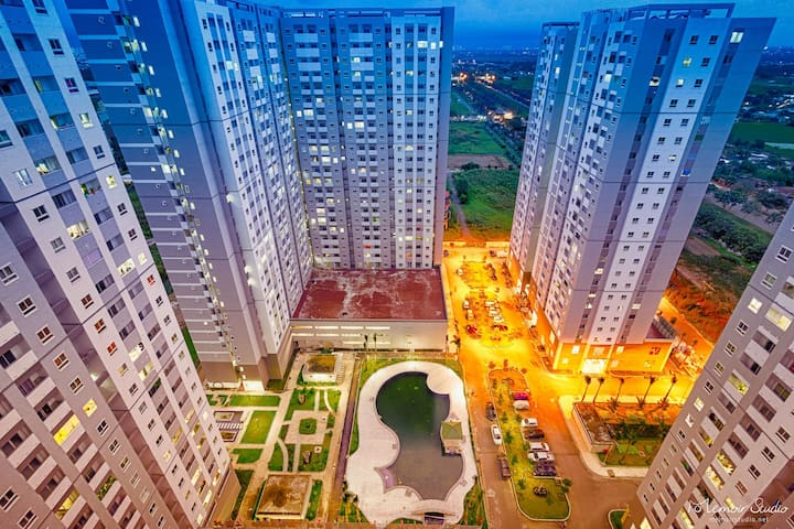 HQC Plaza Apartment, near Phu My Hung, District 7 - นครโฮจิมินห์ - อพาร์ทเมนท์