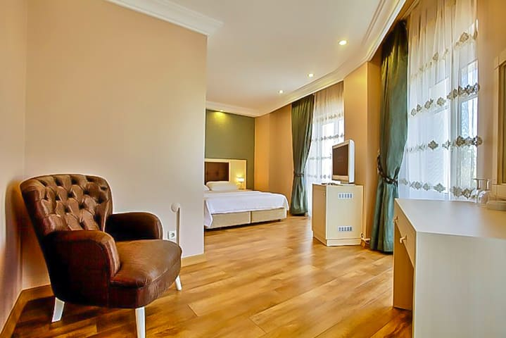 Double Deluxe Room | Buyukada Princess Hotel