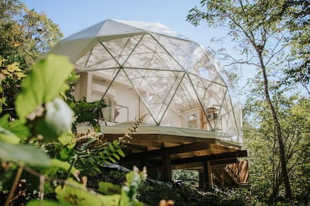 """New Luxury Glamping Dome #2  - """"The Overlook"""""""