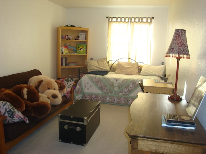 Twin Beds & Futon in 12th Sunniest City