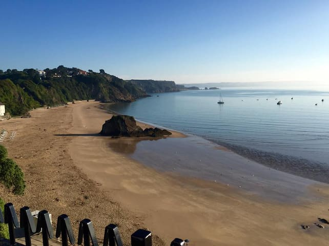 Tenby town centre couples only apartment - Tenby - Daire
