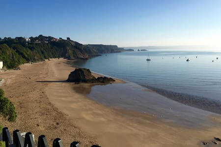 Tenby town centre couples only apartment - Tenby - Apartamento