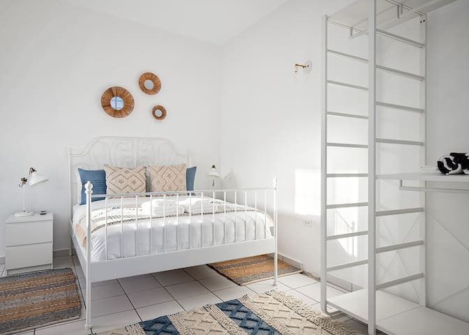 Our Guest Bedroom 3, is a complete studio with its own private bathroom, attached to the hose, sharing the same big terrace