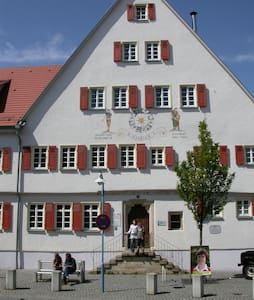 helles, schönes Zimmer, 17 qm, Nähe Airport-Messe - Filderstadt - Apartament